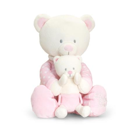 Baby Bear with teddy pink