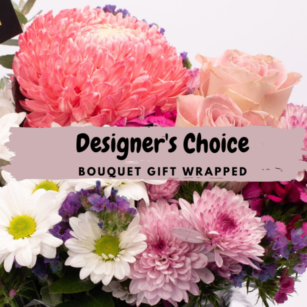 Designer Choice - Gift Wrapped Bouquet