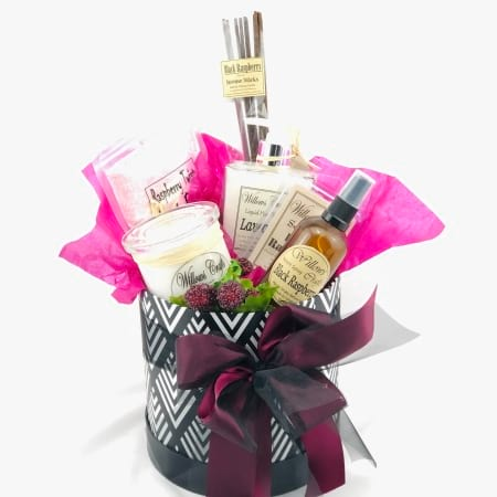 Stay at Home Pamper Hamper #3 - Raspberry Twist