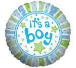 It`s A Boy Helium Balloon