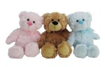 Blue, Pink and Brown Teddy Bear