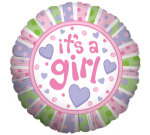 It`s a Girl Helium Balloon